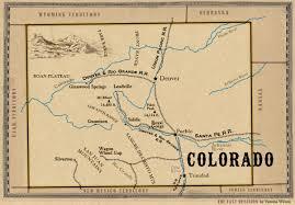 Colorado Springs Colorado Map by Map Of Colorado
