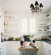 Kitchen With Farm Sink - cottage farmhouse kitchens inspiring in white fox hollow cottage