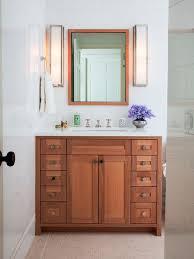 White Wall Bathroom Cabinet Oak Vanity Bathroom Houzz