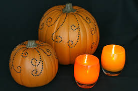 pretty jeweled pumpkins d i y craft glorious treats pretty jeweled pumpkins d i y craft