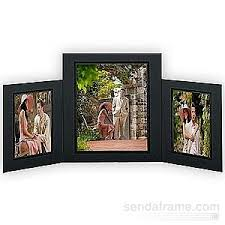 8x10 Photo Albums Promenade Triple 5x7 8x10 Black Cardstock Photo Frame Black Foil