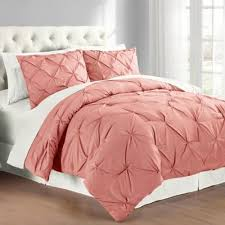 Solid Pink Comforter Twin Buy Coral Colored Comforter Set From Bed Bath U0026 Beyond