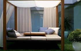 outdoor round daybed chaise lounge outdoor with canopy pool day