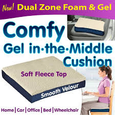 Gel Office Chair Cushion Buy Forever Comfy Seat Cushion Memory Foam Gel Pillow For Home