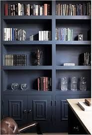 Dark Bookcase Embracing The Dark Side Centsational Style