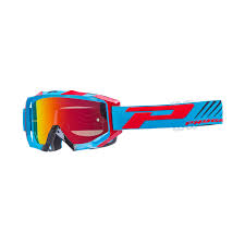 motocross goggles tinted progrip venom 3200 mx motocross goggles turquoise red