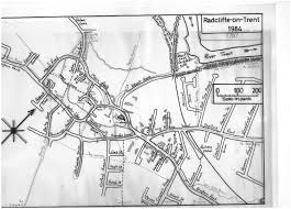 Newark Map History U2013 Radcliffe On Trent Archaeological Project