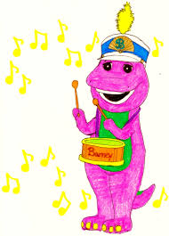 barney playing a snare drum by bestbarneyfan on deviantart