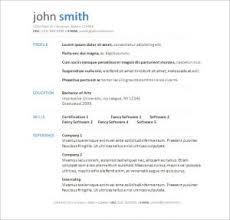 Resume Templates In Word Format Download Resume Templates For Word Haadyaooverbayresort Com