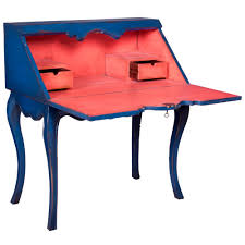 french country writing desk blue french country writing desk vibrant belle escape furnishings