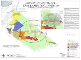 Lancaster Map Building Zoning U2013 East Lampeter Township