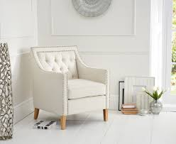 White Leather Accent Chair Armchair Ivory Armchair Accent Chair Leather Accent