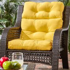 Home Decorators Outdoor Cushions by Stylish Outdoor High Back Chair Cushions Luxurious High Back