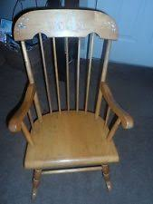 Oak Rocking Chairs Oak Rocking Chair Ebay