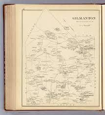 Nh Map Gilmanton Belknap Co N H David Rumsey Historical Map Collection