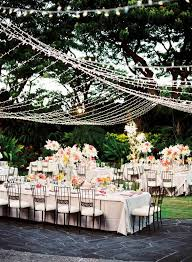 Small Backyard Wedding Reception Ideas Outdoor Wedding Reception Ideas To Make You Swoon U2013 Dipped In Lace