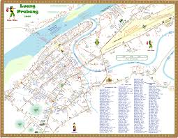 Map Of Germany Cities by Map Of Luang Prabang