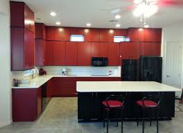 red cabinets in kitchen kitchen with red cabinets nurani org