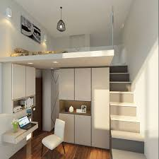 beautiful loft bed design maximise space