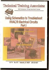 dvd video using schematics to troubleshoot hvac r electrical