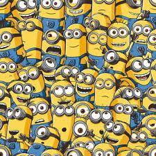 Despicable Me Minions 10m Long Wallpaper Kids Bedroom Wall Decor
