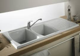 DropIn Kitchen Sink Double Bowl Kitchen Sink With Drainer - Kitchen sinks sydney