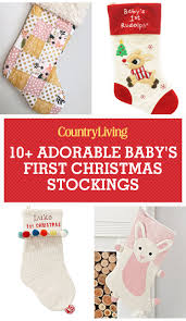11 baby u0027s first christmas stockings cute ideas for infant boy