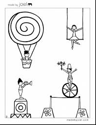 good printable circus coloring pages with carnival coloring pages
