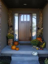 exterior front door design with cool wreath decor