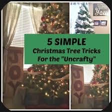 5 simple tricks to make your christmas tree