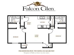 2 bed 2 bath floor plans mesa apartments floor plans falcon glen apartments floor plans