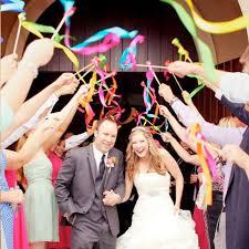 wedding wands haochu 20pcs lot wedding ribbon stick wands colorful twirling