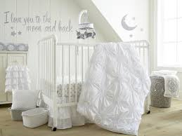 White Crib Set Bedding Levtex Baby Willow 5 Crib Bedding Set White Babies R Us