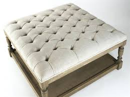 armen living coffee table linen coffee table armen living corbett leather and linen coffee