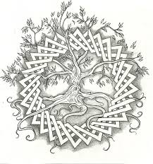 wonderful celtic tree design tattooshunt com