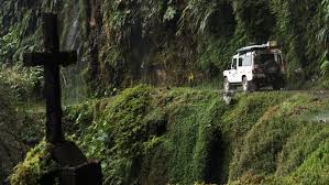 Ex Machina Waterfall Lethal Beauty Death Road Bolivia In A Land Rover Drivetribe
