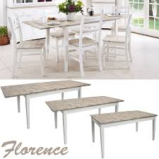 florence rectangular extending table large kitchen dining table