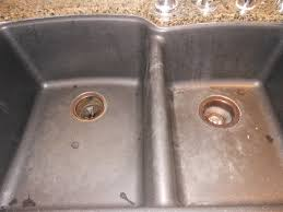 Kitchen Sink Black Granite by Black Granite Composite Sink Cleaning Video And Photos