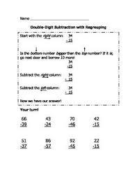 subtraction worksheets subtraction worksheets with renaming