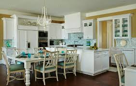 Beach Kitchen Design Beach House Kitchen With Turquoise Decor Home Bunch U2013 Interior