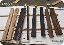 reclaimed wood vs new wood how to age wood wood projects pinterest aged wood woods and