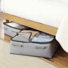 better homes and gardens 2 pocket under bed bag grey walmart com