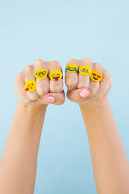 diy emoji rings club crafted