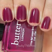 butter london queen vic peachy polish unhas nails pinterest