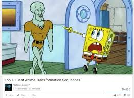 Best Anime Memes - top 10 best anime transformation sequences imgur