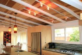 Lighting For Beamed Ceilings Lighting For Low Beamed Ceilings Kitchen Ideas Exposed Beam