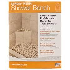 Schluter Corner Bench Schluter Kerdi Shower Sb Triangular Shower Bench 16in X 16in