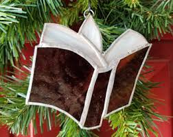 stain glass ornament etsy