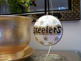 pittsburgh steelers ornament ornament designs