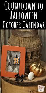 October Decorations October Calendar How To Make A Halloween Frame Calendar